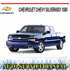 CHEVROLET CHEVY SILVERADO 1500 1998-2007 REPAIR SERVICE MANUAL ~ DVD