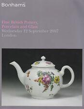 BELLE British ceramica e porcellana e vetro CATALOGO D'ASTA