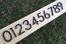 3 inch Modern House Address Numbers Letters, color choices
