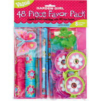 GARDEN GIRL 48 piece Mega Value Pack Favours Loot Kids Birthday Party