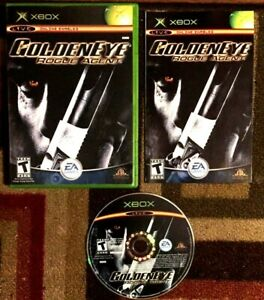 GoldenEye: Rogue Agent Complete (Microsoft Xbox, 2004) VG Shape & Tested