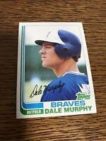 Atlanta Braves Dale Murphy 1982 Topps Baseball Card 668 Near Mint