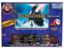 NEW LIONEL POLAR EXPRESS Battery Powered Train Set 7-11824/ Christmas Train