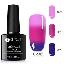 UR SUGAR 7.5ml Nail UV Gel Polish Soak off Thermal Color Changing UV/LED Gel