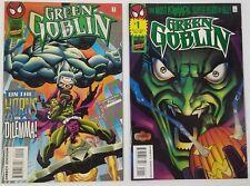 N) Lot of 2 Marvel Green Goblin Spider-Man Group Comic Books
