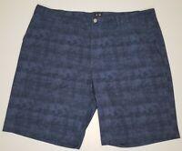 Adidas Ultimate Golf Chino Shorts Blue Plaid Men's Size 42