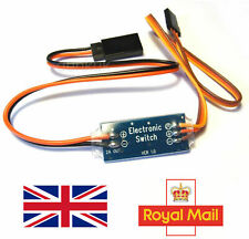 RC Receiver Controlled Electronic On Off Switch R/C Remote - Alt to Turnigy UK