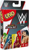 Mattel - UNO WWE Card Game - Wrestling - New Sealed - In Stock