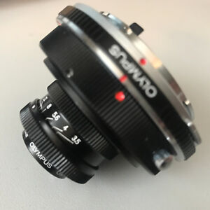 Olympus OM Mount -RMS macrophoto adapter =3 mounts OM/RMS/M42 +14mm Exten. Tubes