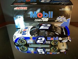Rusty Wallace #2 Mobil Clean 7500 2005 Dodge Charger Last Call 1:24 Action 5,676