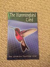 The Hunmingbird Card - Floating Card Magic