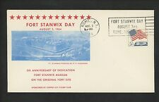 US Postal History Comm Military War Revolution Fort Stanwix Day 8/3/1964 Rome NY