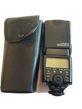 Canon Speedlite 580EX Shoe Mount Flash for  Canon with Carrying Case