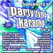 PARTY TYME KARAOKE CD - SUPER HITS 27 (2016) - NEW UNOPENED