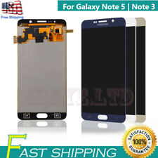 For Samsung Galaxy Note 5 Note 3 LCD Screen Touch Digitizer Replacement FRAME US
