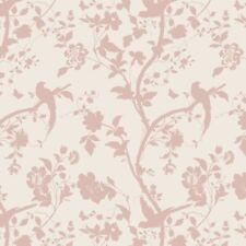 Laura Ashley Oriental Garden Chalk Pink Wallpaper (Same Batch) * FREE DELIVERY *