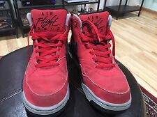Nike Air Flight 2013 Red Shoes Size 11.5 Used Please See Pictures NBA Basketball