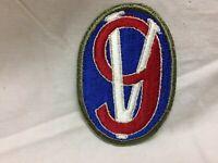 Vintage Military Army 95th Infantry Division Patch Badge 9V Variant 95 OD Border