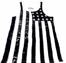 American Flag Tank Top Outcast Supreme Street Style The Misfits USA Fifth Sun M