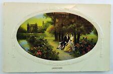 Vintage Postcard 1920s Half Penny Stamp Undecided Philco Publishing Series 2150F