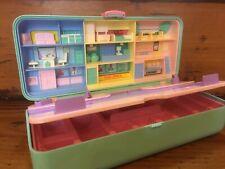 Vintage 1989 Bluebird Polly Pocket High Street Money Box USED *Read Description*