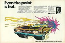 1970 CHRYSLER VALIANT HEMI PACER 4 DOOR MOPAR A3 POSTER AD BROCHURE ADVERT