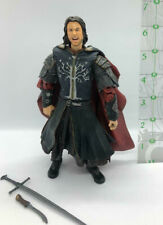 Super Poseable Aragorn action figure Mint out of box Lord of the Rings Lotr