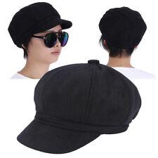 Casquette de Gavroche en coton pour FEMMES HOMMES béret chapeaux gatsby newsboy