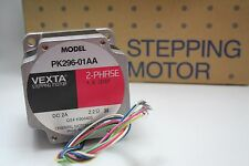 Vexta stepping motor PK296-01AA, 2 phase, 1.8 degree step, DC 2A