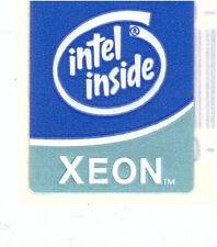 Intel Xeon Case Sticker Aufkleber Badge