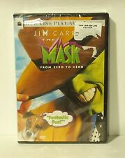 The Mask (DVD, 2005, Canadian) Jim Carrey NEW AUTHENTIC REGION 1