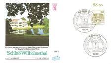 Beleg Berlin FDC ( Nr. 674 ) DS Burgen & Schlösser Bogenrand von 1982
