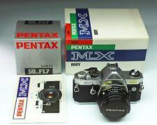 PENTAX MX + SMC-PENTAX 50/1,7