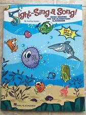 Hal Leonard Sight-Sing a Song! (Set 1) Music Reading for Elem/Classroom Book/Cd