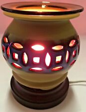 Electric Ceramic Fragrance Lamp/ Oil Burner/Wax Warmer/ Night Light my-621