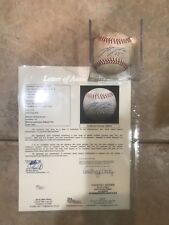2012 ALDS RECORD SERIES JUSTIN VERLANDER THROWN SIGNED  BALL 10-11-2012 RARIST