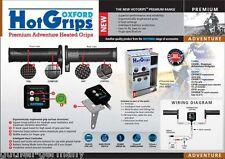 Oxford climatización de viaje-enduro electrónico 5-etapas sistema Hot-Grips