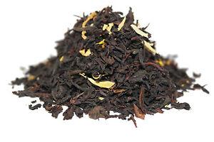 Grenadine and Vanilla Black Tea - Loose-Leaf Luxury Breakfast Tea - 60g - 80g