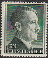 Stamp Germany Mi 799A Sc 524 1941 WW2 3rd Reich Fuhrer Hitler War Party MNH
