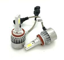 H11 C6 LED Fog Light Bulbs Kit 7600L Canbus For Vauxhall Astra MK5 VXR
