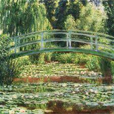 'Il ponte giapponese quadro - Stampa d''arte su tela telaio in legno'