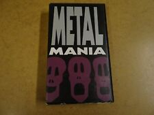 VHS VIDEO / METAL MANIA