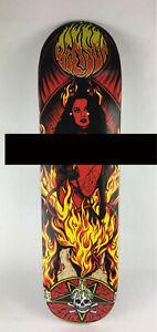 "Benson Red Devil Women Pro deck - Death Skateboards 8.25 "" with grip"