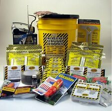 Mayday Earthquake Kit 4 Person Deluxe Home Honey Bucket Survival Emergency Kit