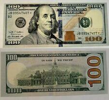 2009 $100 Error Misaligned*Star Note * (Jb09547407*)