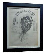 STEELY DAN+Pretzel Logic+RARE ORIGINAL 1974 POSTER AD+FRAMED+EXPRESS GLOBAL SHIP