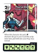 Marvel Dice Masters AOU, Maria Hill Avengers Liaison 55/142 W/Dice