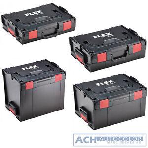 BOSCH FLEX KOFFERSYSTEM L-BOXX 1 / 2 / 3 / 4 L-BOX 102 136 238 374 Sortimo LBOX