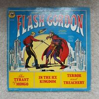 Flash Gordon The Tyrant Of Mongo Terror & Treachery (LP, 1979) A.A. Records