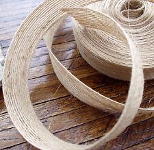 # Juteband - naturrein, atmungsaktiv, strapazierfähig - Holzschutz bei Drahtung